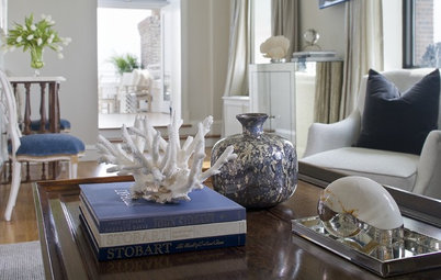 Get More Mileage From Your Coffee Table Books — as Decorating Elements