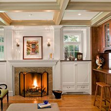 Traditional Living Room by Mockler Taylor Architects