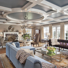 coffered ceilng