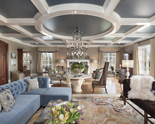 Coiffure ceiling home design ideas pictures remodel and for Living room coiffeur