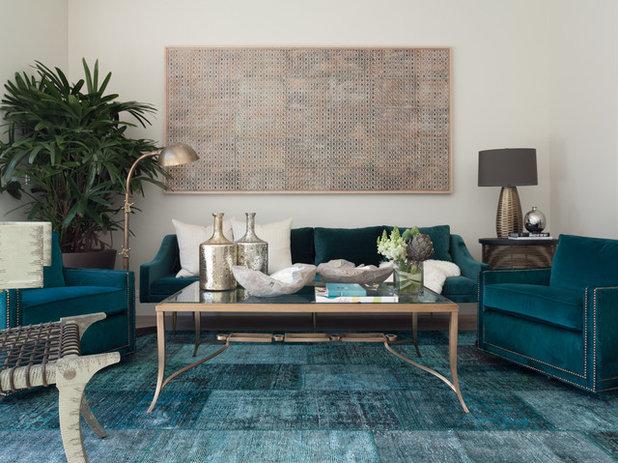 Modern Wohnbereich by Jeff Schlarb Design Studio