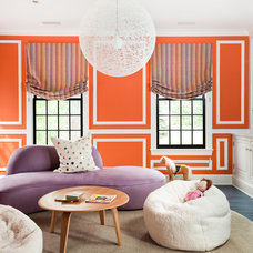 Transitional Living Room by Thom Filicia Inc.