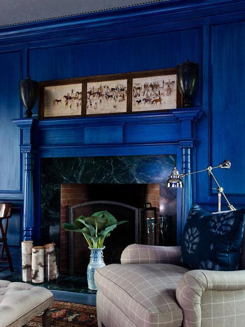 Black Marble Fireplace Houzz