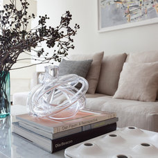 Contemporary Living Room by Lucy Harris Studio