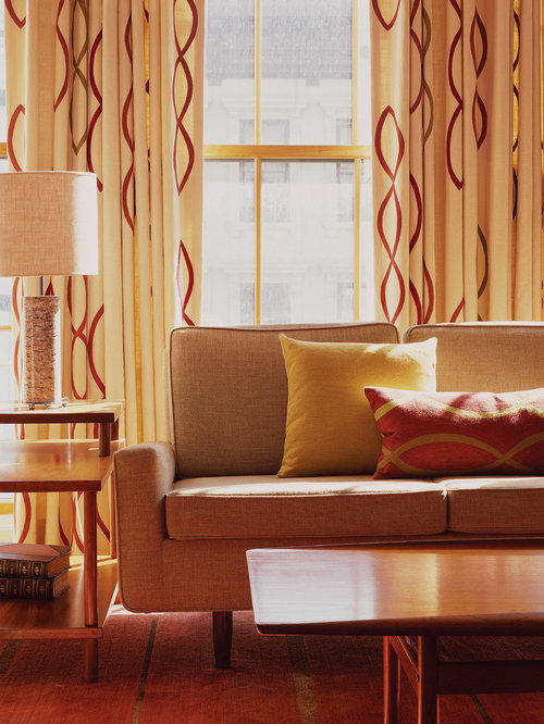 Mid Century Curtains Design Ideas Remodel Pictures Houzz