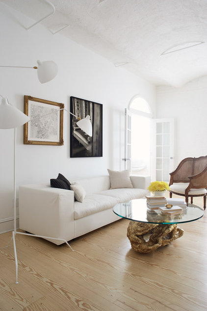 Contemporary Living Room by Magdalena Keck Interior Design