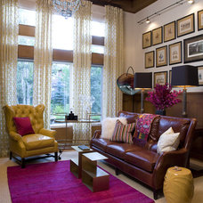 traditional living room by Andrea Schumacher Interiors