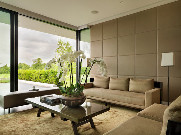 Modern Living Room by Gregory Phillips Architects