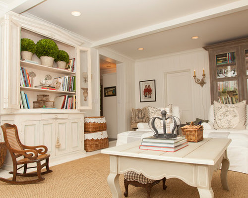 Shabby Chic Style Beige Living Design Ideas Renovations