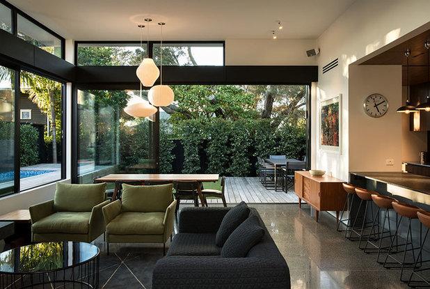 ミッドセンチュリー リビング by Rogan Nash Architects Ltd