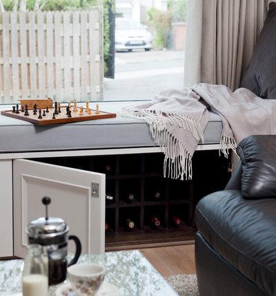 Modern Living Room by Kingston Lafferty Design