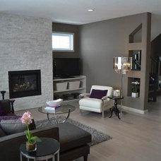 Contemporary Living Room by Carpet Colour Centre - Carpet One