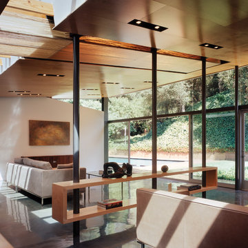 GRIFFIN ENRIGHT ARCHITECTS: Benedict Canyon Residence