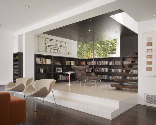 Very Small Library Room Home Design Ideas Pictures