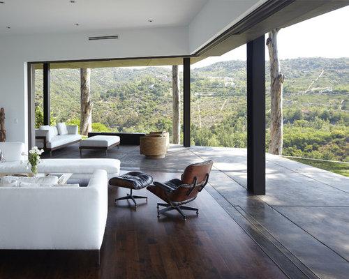 Modern Veranda Door Home Design, Photos & Decor Ideas - ^