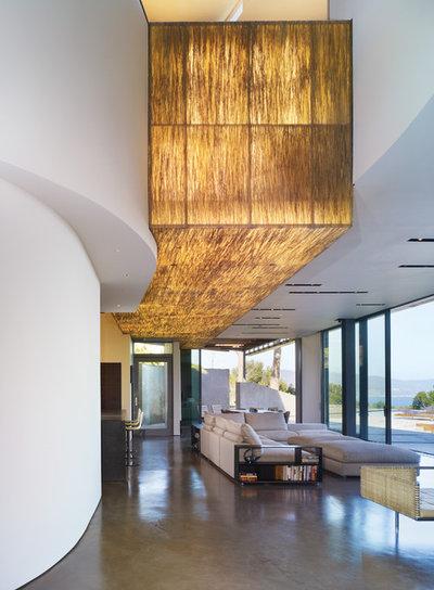 コンテンポラリー リビング by Griffin Enright Architects