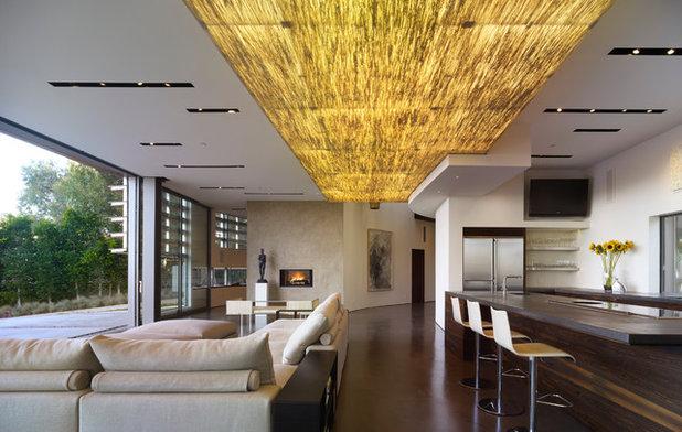 Современный Гостиная by Griffin Enright Architects