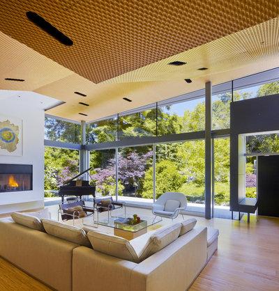 Modern Vardagsrum by Griffin Enright Architects