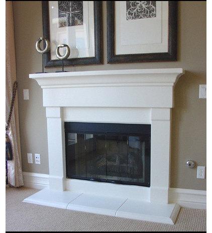 Traditional Living Room by Fireside Design Center
