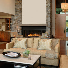 Traditional Living Room by Hilary Young Design Associates
