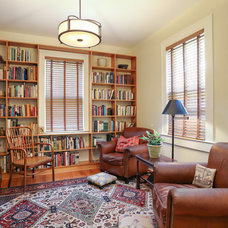Traditional Living Room by Classic Remodeling & Construction, Inc