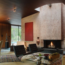 Modern Living Room Grunsfeld Shafer Architects › Fifties Love Affair