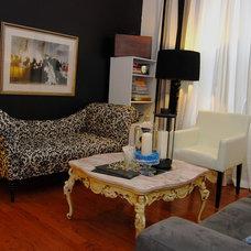 Modern Living Room by Nicole Lanteri Design