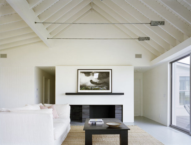 Beach Style Living Room by Robert Young Architects
