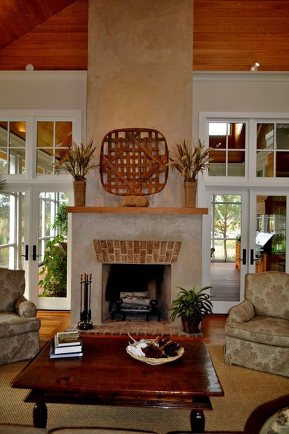 Traditional Living Room by Frederick + Frederick Architects