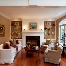 traditional living room by Grande Interiors