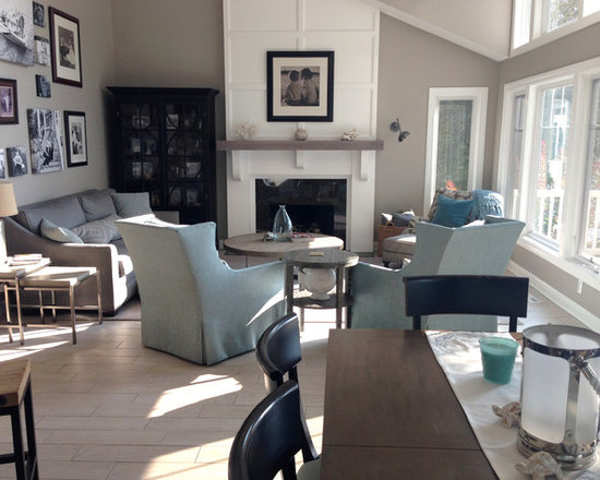 Sherwin williams amazing gray home design ideas pictures for Amazing blue gray living room