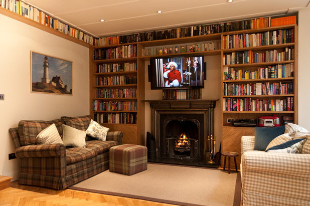 Traditional Living Room by Andy Stone Bespoke Interiors