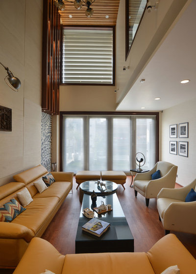 Contemporary Living Room by SPACES ARCHITECTS@ka