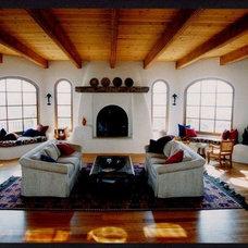 Mediterranean Living Room by Whitman Design Build Inc.