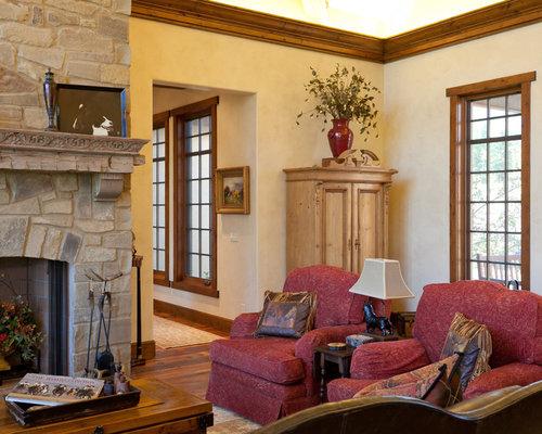 Hailey idaho residence timber frame hybrid for Living room 528 powell street