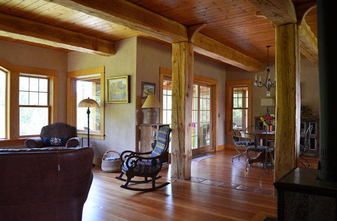 Rustic Living Room by Sarah Greenman
