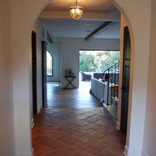 Mediterranean Living Room by Exquisite Ceramics