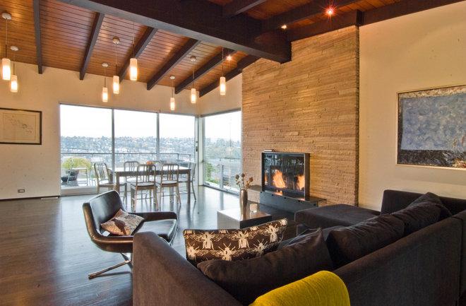 Modern Living Room by BUILD LLC