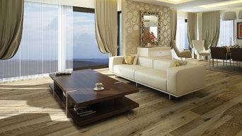 Hallmark Floors Organic 567 Engineered floors, reclaimed look