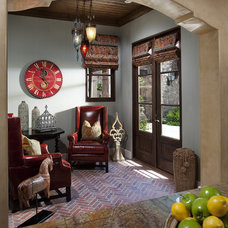 Mediterranean Living Room by Hallmark Interior Design LLC