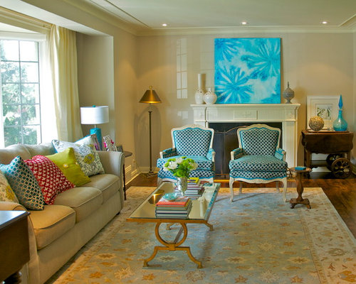 Grey beige gold turquoise copper bronze home design ideas for Bronze living room ideas