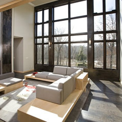 contemporary living room by Bob Michels Construction, Inc.