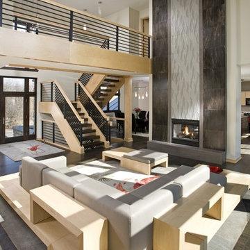 Ham Lake - Contemporary Total Home Remodel