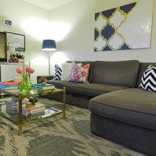 Contemporary Living Room by Nubi Interiors