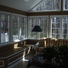 Traditional Living Room by T.W. Ellis LLC