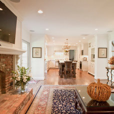 Traditional Living Room by Cameo Kitchens, Inc.