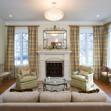 Traditional Living Room by Carter Inc