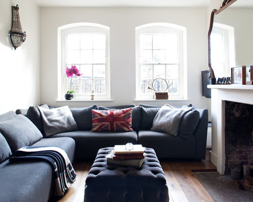 Corner Seating Living Room Ideas & Photos | Houzz