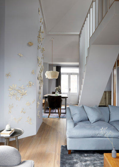 Rustic Living Room by Indie & Co.