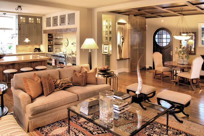 Traditional Living Room by Culligan Abraham Architecture